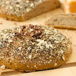 Herbed Whole Wheat Bread with Sunflower and Sesame Seeds