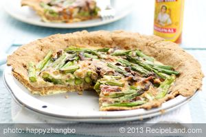 Asparagus and Gruyere Pie