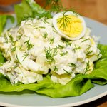 Pickled Herring in Sour Cream