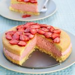 Strawberry Mousse Cake