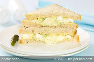 Amazing Classic Egg Salad for Two