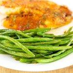 Lemony-Garlicky Green Beans