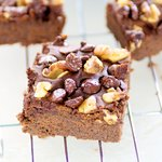 Gluten-Free Black Bean and Chocolate Brownies
