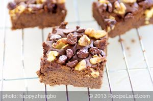 Gluten-Free Black Bean and Chocolate Brownies