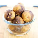 Double Chocolate and Peanut Butter Energy Balls