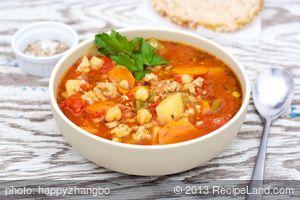 Crockpot Italian Sausage Vegetable Soup