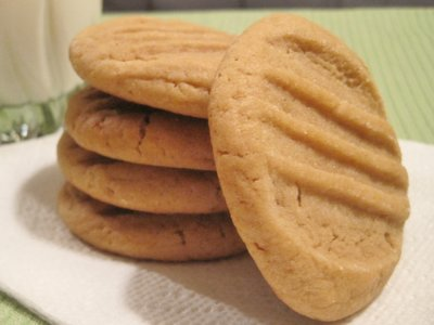 Best Ever Chewy Peanut Butter Cookies