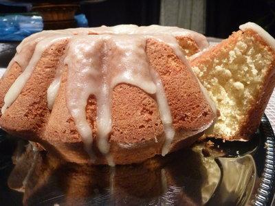 Fluffy Lemon Coffee-Cake