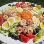 Chef's Salad with 1969 Oil and Vinegar Dressing