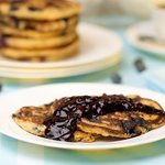 Breakfast Blueberry Ricotta Pancakes