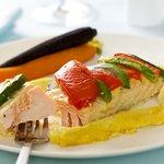 Salmon in Aioli Sauce