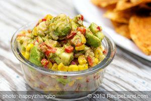 Avocado, Roasted Corn, and Cilantro Salsa