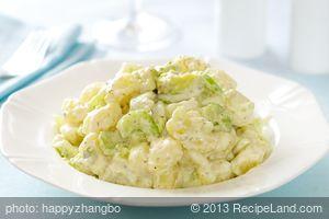 Avocado and Potato Salad with Horseradish