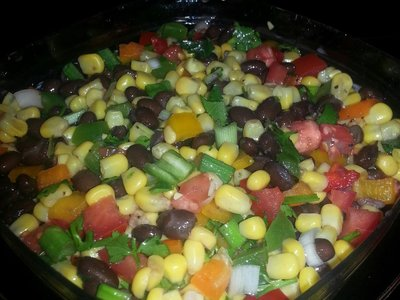 Black bean and Corn Salsa