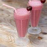 Cherry Vanilla Bean Milkshake
