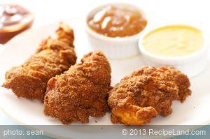 Homemade KFC Crispy Strips
