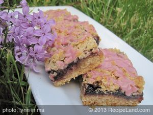Blackberry Crunch Bars
