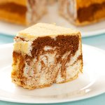 Chocolate Marbled Angel Food Cake
