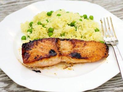 Polynesian Glazed Salmon