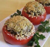 Savory Stuffed Tomatoes