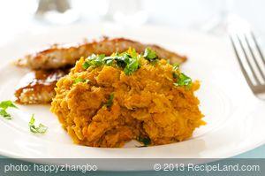Asian Mashed Sweet Potatoes