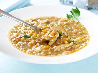 Barley-Shiitake Mushroom Soup