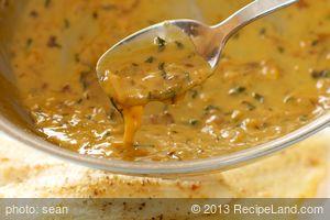 Orange Tarragon Cream Sauce