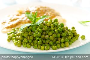 Easy Mint Peas