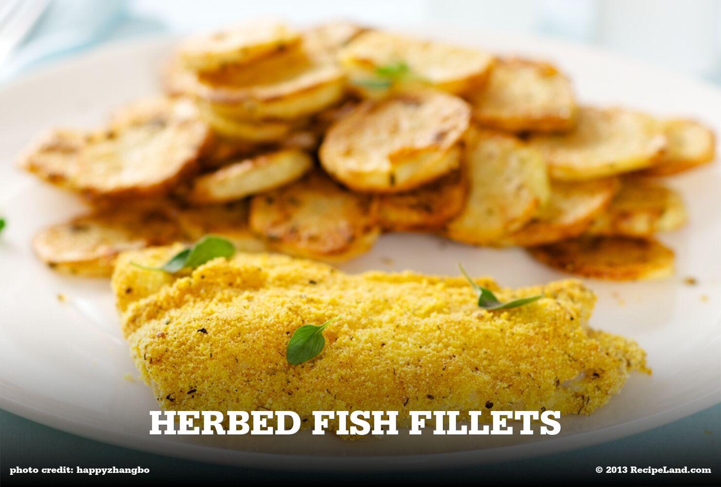 Herbed Fish Fillets