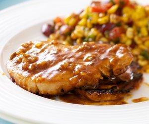 Honey Dijon Glazed Pork Chops