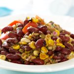 Kidney Bean Salad with Mediterranean Dressing