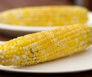 Garlic-Lemon Corn Cob