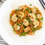 Stir-Fried Shrimp with Oyster Sauce