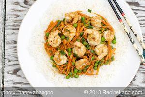Stir-Fried Shrimp with Oyster Sauce