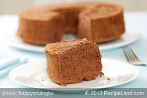 Light Chocolate Angel Food Cake