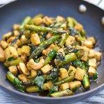 Asian Asparagus and Tofu Stir-Fry