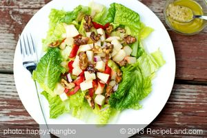 Sauteed Garlic Salad Dressing