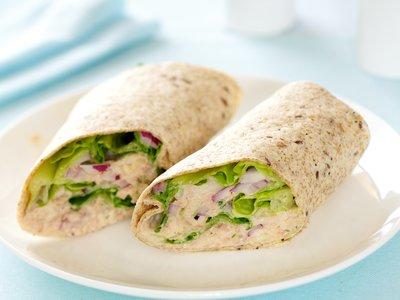 Chunky Tuna Salad Roll-Ups
