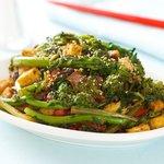 Rapini and Tofu Stir Fry