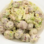 New Potato Salad with Dried Tomatoes
