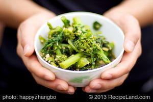Garlicky - Soy Rapini (Broccoli Rabe)