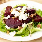 Beet and Walnut Salad