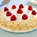 The Meringue frosting is fluffy and so light.