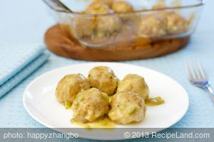 Honey-Mustard Turkey Meatballs
