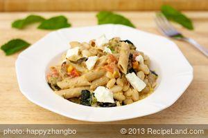 Fennel, Zucchini and White Bean Pasta