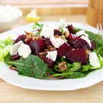 Roasted Beets and Goat Cheese Salad