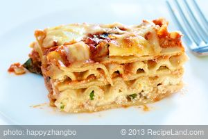 Cheesy Vegetable Lasagna