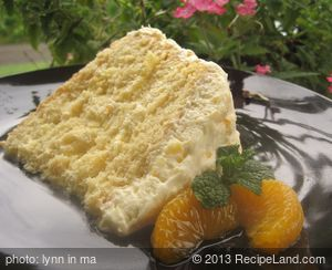 Favourite Mandarin Orange Cake