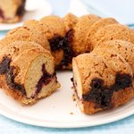 Almond Cherry Bundt Cake