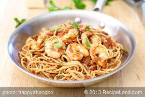 Saucy Shrimp and Pasta